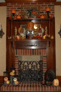 Thanksgiving Fireplace Decorating Ideas | List 17 Ideas in ...