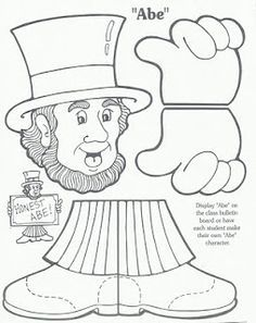 17 Best ideas about Abraham Lincoln For Kids on Pinterest