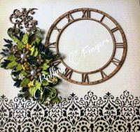 The 50 best images about Paper Quilling Wall Clocks on ...