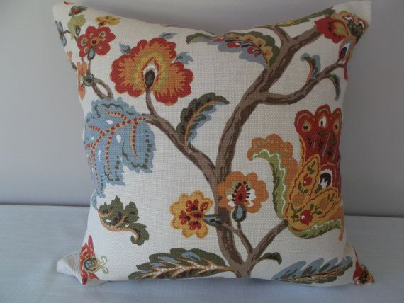 P Kaufmann Floral Granada Fiesta Decorative Pillow Cover