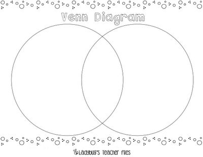 2 circle venn diagram maker wiring for mains smoke detectors free printable problems - 1000 ideas about diagrams on pinterest compare and ...