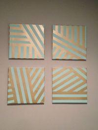 Best 25+ Geometric painting ideas on Pinterest