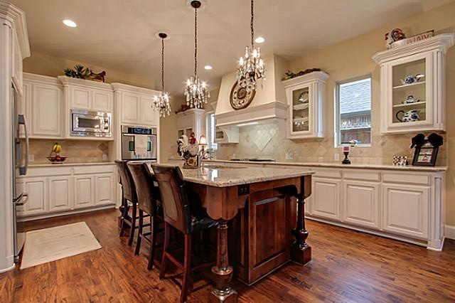 pendant lighting kitchen island black sink use of mini chandeliers as lights for over ...