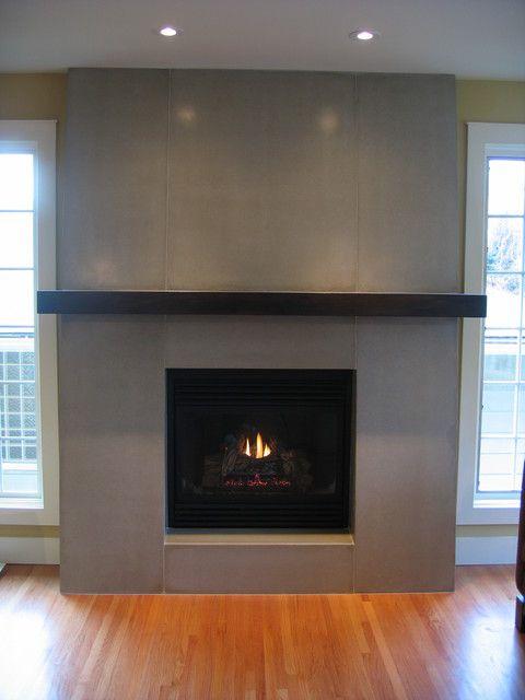 Fireplace Mantels Designs Contemporary