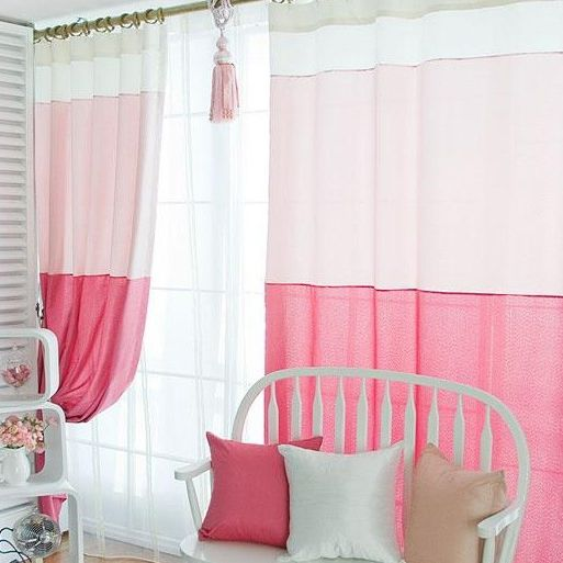 1000 ideas about Girls Bedroom Curtains on Pinterest