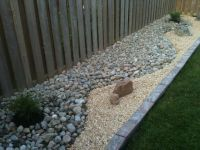 diy rock garden- I like the use of different kinds of rock ...