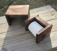 Toilet Paper Holder Plans - WoodWorking Projects & Plans