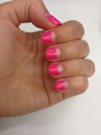 1000+ images about Reverse Tip Nails on Pinterest