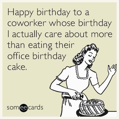 Birthday Happy Someecards Boss Funny