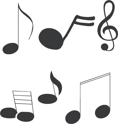 125 best musical note templates images on Pinterest