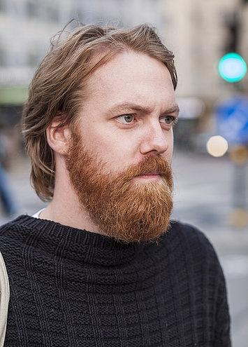 Long Full Beard Styles Mens Hair Pinterest