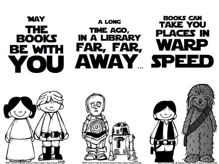 Star Wars bookmarks...Facebook fan freebie https://www