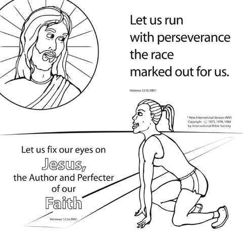 17 Best images about Run the Race Theme on Pinterest