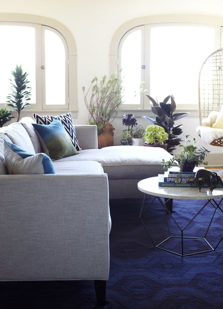 west elm living room  just waiting for this coffee table
