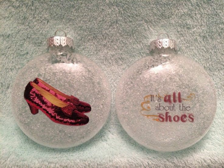 ruby slippers ornament