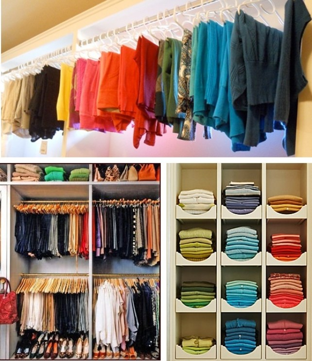guide - c5fb1154b07ae43c9f588b223a36c7f3  color coded closet color coordinated closet - The Ultimate Guide To Colour Coding Your Family Fast