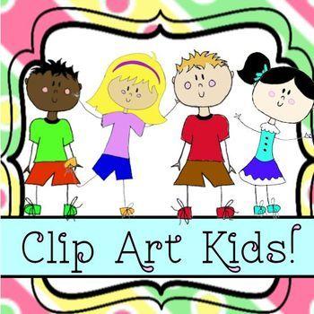 Clip Art Classroom Kids Students