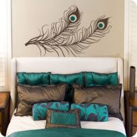 17 Best ideas about Peacock Bedroom on Pinterest