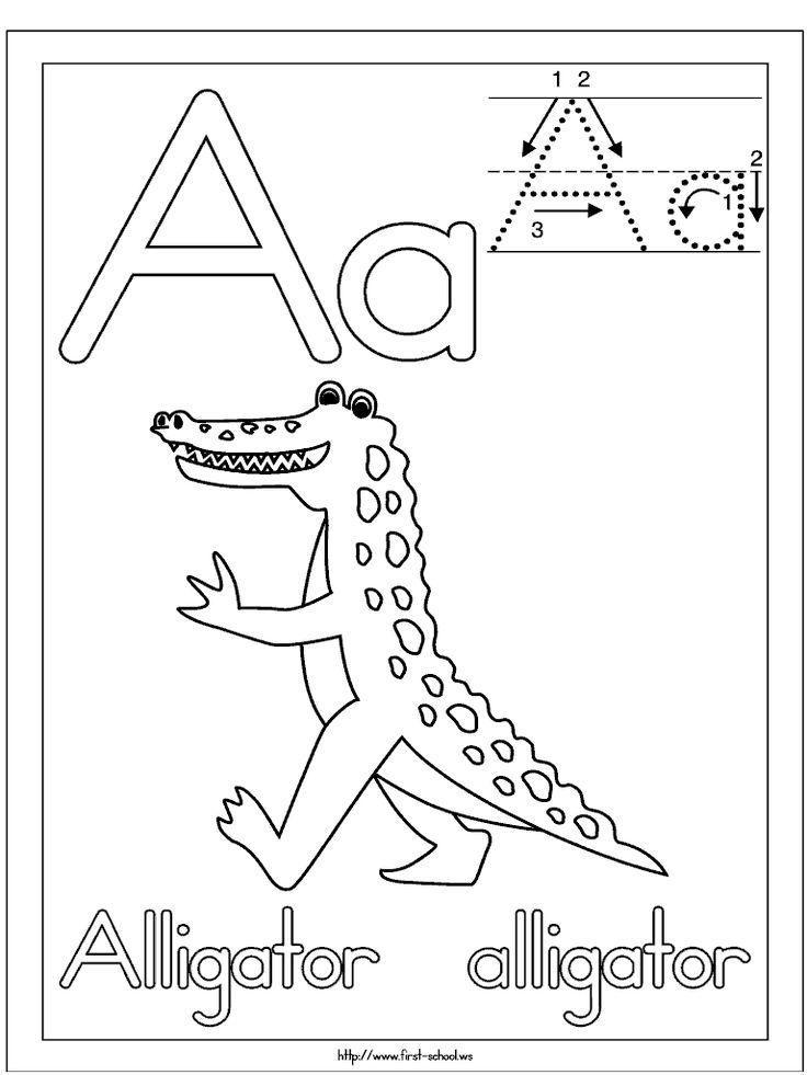 Short a, Alligators and Shorts on Pinterest