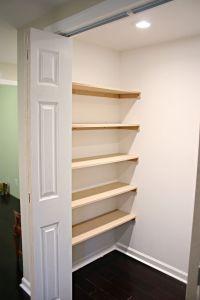 Closet Organization Shelves   Alcove, Wardrobes and How to ...