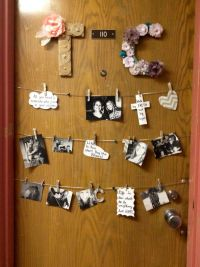 25+ Best Ideas about Dorm Door Decorations on Pinterest