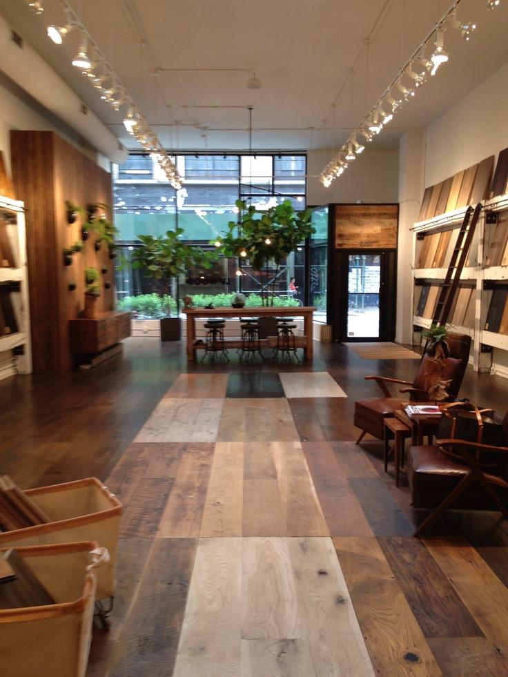 wood kitchen floors island legs lv - a floor shopping sanctuary in the flatiron ...