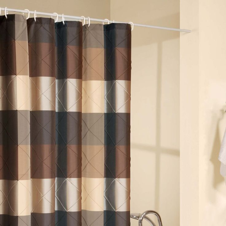 15 Best Ideas About Brown Shower Curtains On Pinterest