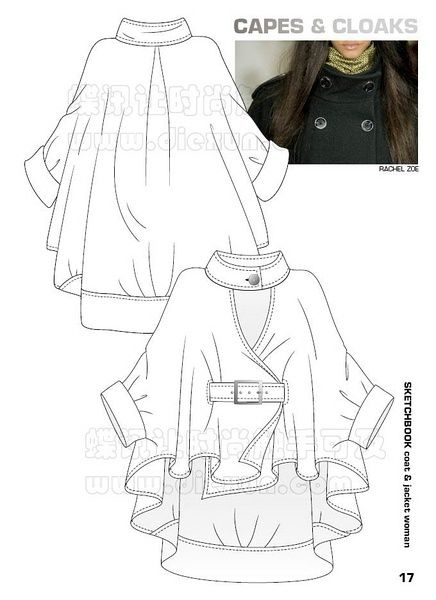 1000+ images about Fashion specification drawings on