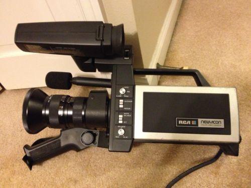 Vintage RCA CC011 NewVicon Color Video Camera Case