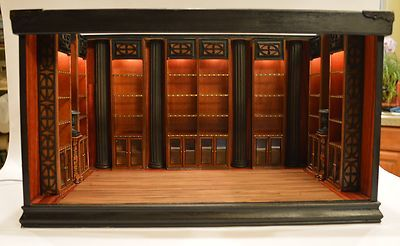 Dollhouse Miniature 112 Scale Libaray Or Book Store Room