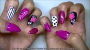 nails 3d barbie logo