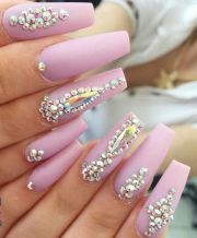 1000 ideas rhinestone nails