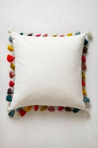 Firenze Velvet Tassel Pillow | Colors, Blue yellow and Chairs