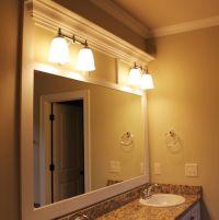 17 Best ideas about Frame Bathroom Mirrors on Pinterest ...