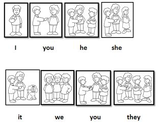 personal pronouns: a collection of ideas to try about