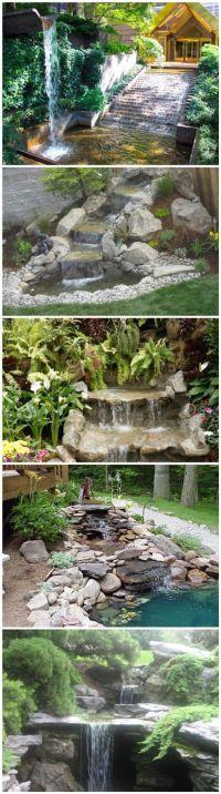 17 Best ideas about Garden Waterfall on Pinterest ...