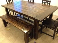 Farmhouse Table and Bench | Do It Yourself Home Projects ...