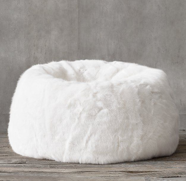 restoration hardware beanbag chair church accessories 10 best ideas about fur bean bag on pinterest | chairs, bags and bedroom