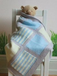 25+ best Knitted baby blankets ideas on Pinterest ...