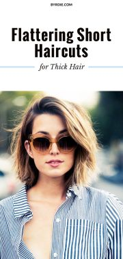 short thick hair ideas