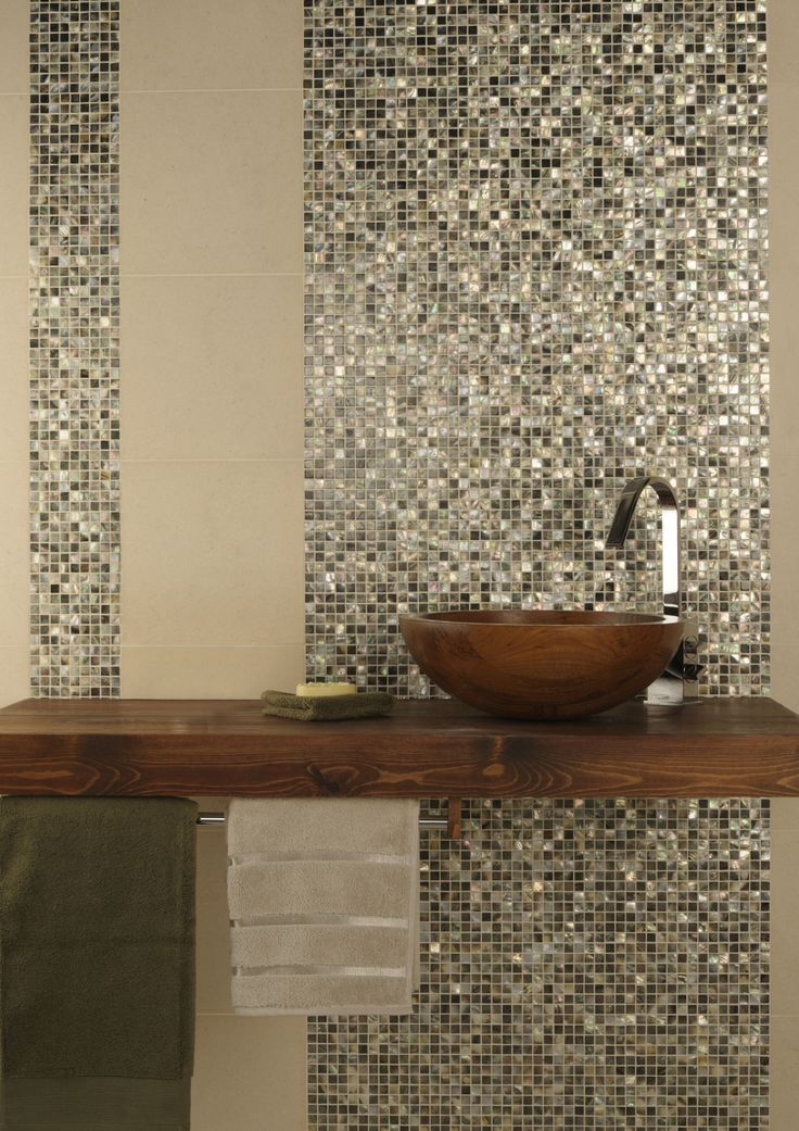 Mother of Pearl shell mosaic tiles by Original Style