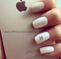 Chanel Nail Design | Nail Designs | Pinterest | Chanel ...