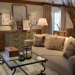 Pillow Ideas For Leather Sofa Harrison Bernhardt Ralph Lauren's Alpine Lodge Collection | Lauren ...