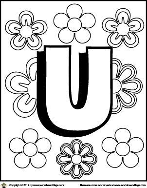 46 best images about Letters Kleurplaten on Pinterest