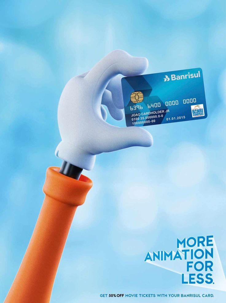 Banrisul Credit Card Animation Advertising Pinterest