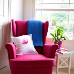 Rug For Living Room How Can I Design My Small Confetti Avenue By Charlotte Hartwell: Ikea Strandmon Pink ...