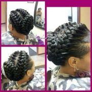 2 goddess braids