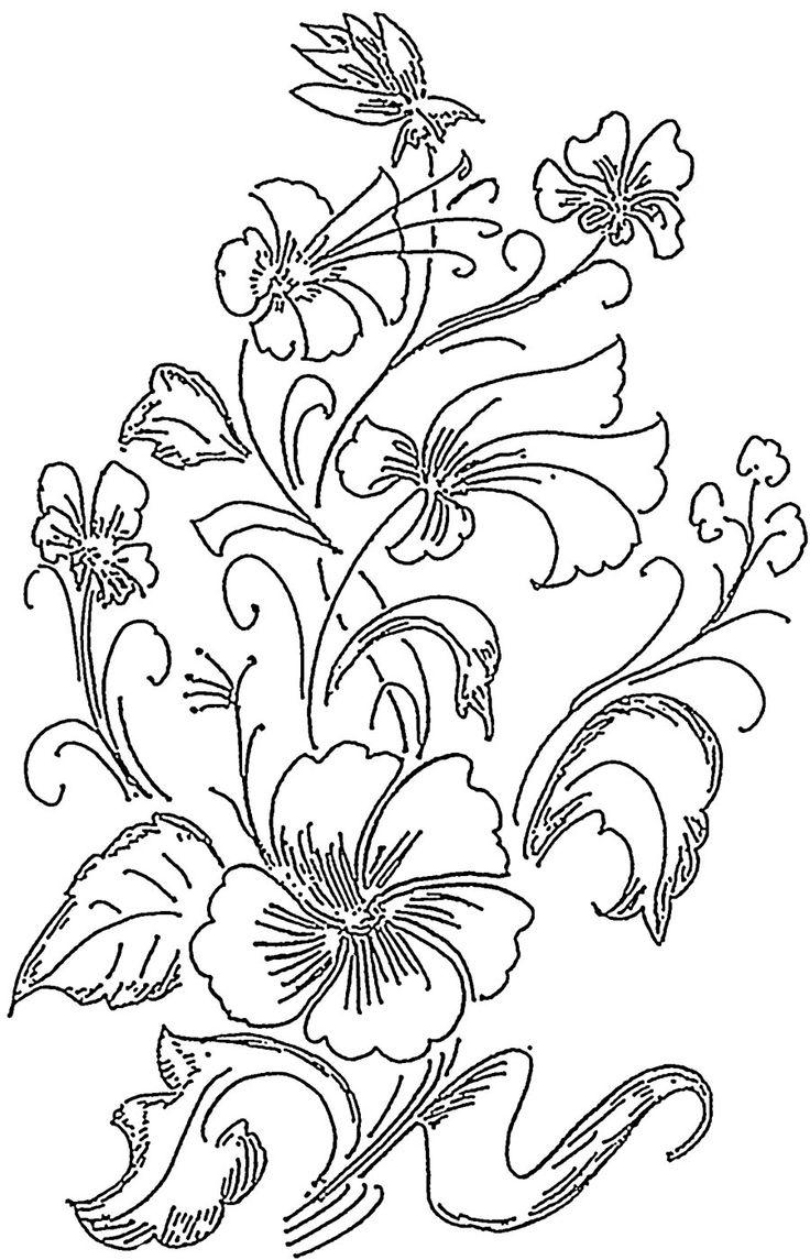 236 best Floral Wood Carving Patterns images on Pinterest