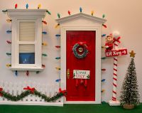 Elf on the Shelf North Pole Door | Ideas, Elf on the shelf ...