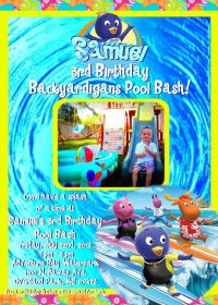 17 Best images about Backyardigans invitations on ...